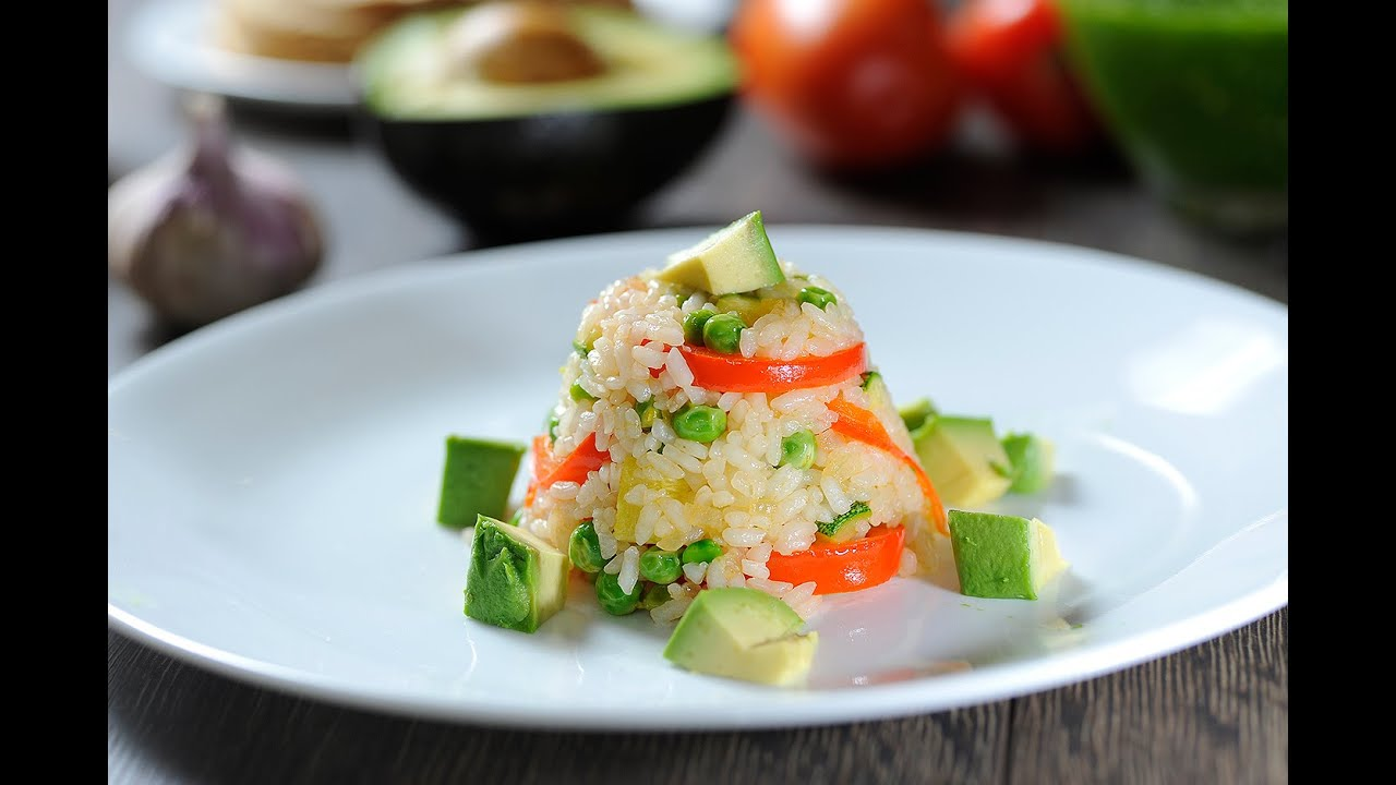 Timbal De Arroz Con Verduras Receta Fácil De Preparar