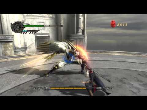 Devil May Cry 4: Nero vs Credo HD (Full Fight)