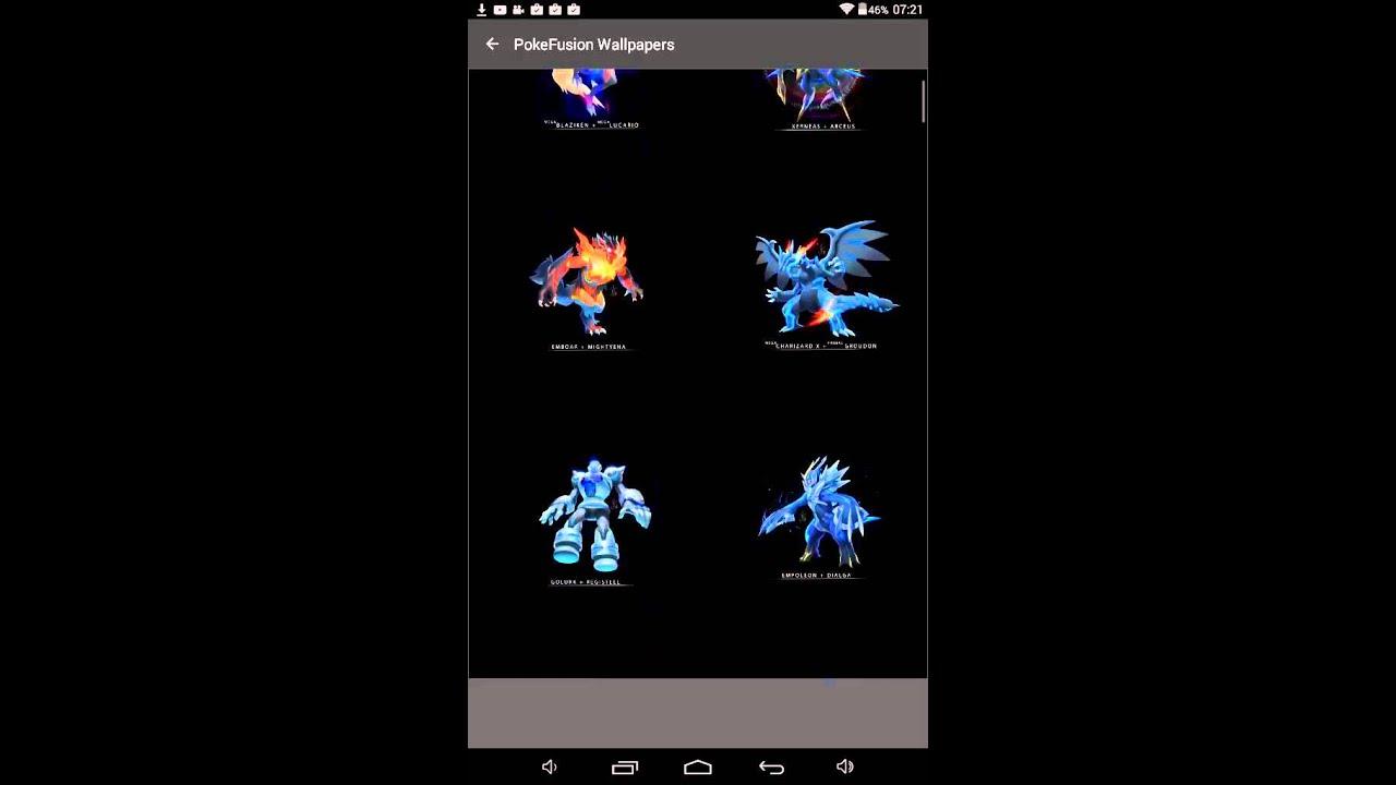 Fond D Ecran Pokemon Fusion Partie 1 Youtube