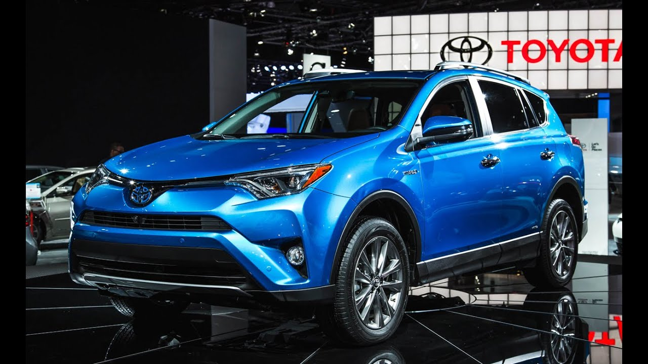 2016 toyota rav4 limited awd review and detailed features in electric storm blue 4k youtube. Black Bedroom Furniture Sets. Home Design Ideas