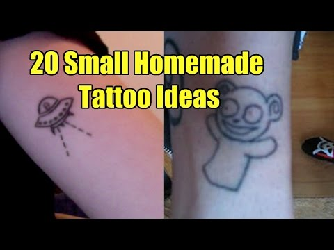 TATTOO WORLD: 20 Small Easy Homemade Tattoo Ideas