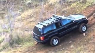 jeep wj grand cherokee 4 inch lift hill climb