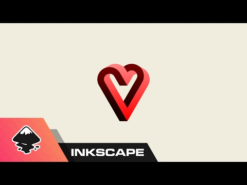 Inkscape Tutorial: Impossible Heart Graphic