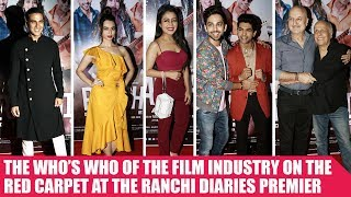 Mahesh Bhatt and many celebs attend red carpet premiere of Ranchi Diaries