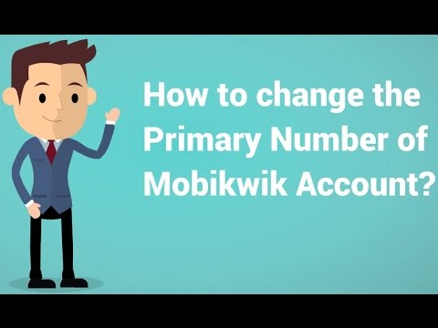 How to change Mobikwik Primary Number