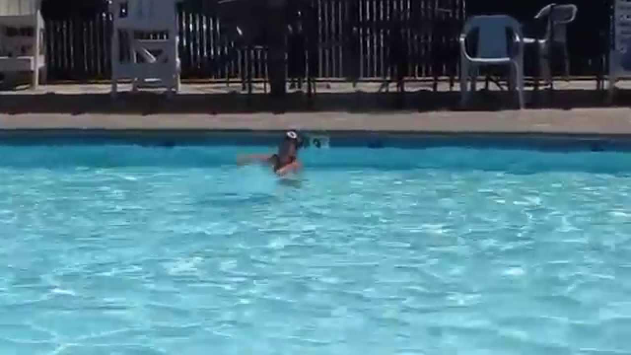 Kira Sings Frozen Song At Swimming Pool Just Hilarious Enjoying At Herself Youtube