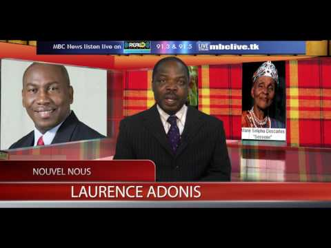 NOUVEL NOUS (CREOLE NEWS) WITH LAURENCE ADONIS