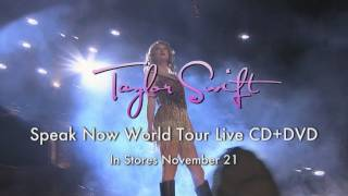 Speak Now World Tour Live CD+DVD