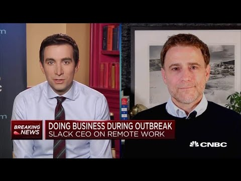 Slack CEO On Remote Work During Outbreak, User Growth And Company Debt Raise