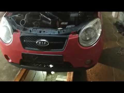 Фото к видео: Киа Пиканто 1.1crdi - обслуживание