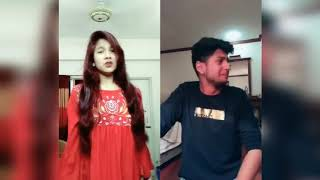Tawhid Afridi with Riddho Rangan | Top Funny Musically | musically world's official |