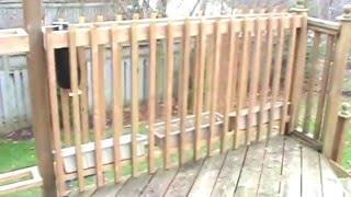 (DiY) Vertical Self Watering Deck Garden System: PART 1