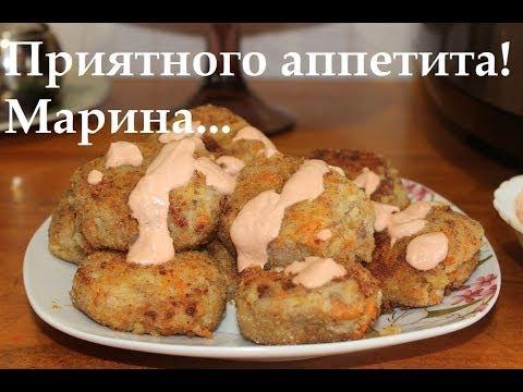 Картофельные котлеты в мультиварке