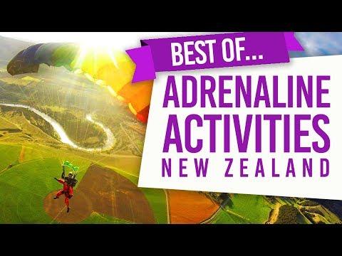 The Best Adrenaline Activities in New Zealand