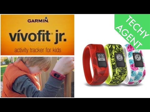 Garmin Vivofit jr - REVIEW (with real kids!)