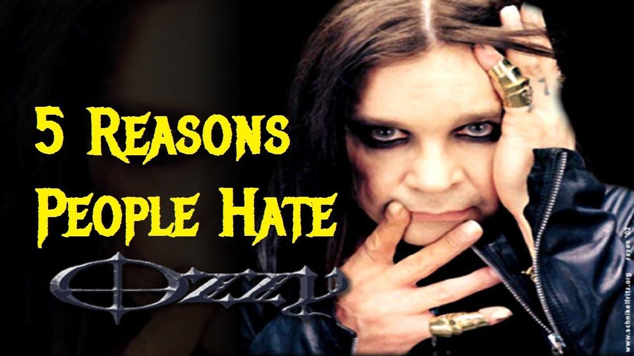 5 Reasons People Hate Hated OZZY OSBOURNE - YouTube 0c888b1ef5a