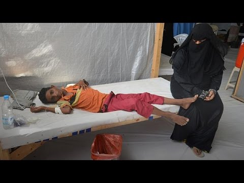 'Over 100' killed in cholera outbreak in Yemen capital Sanaa