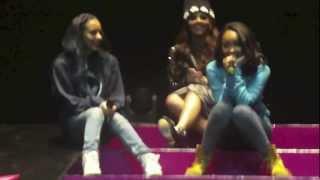 Little Mix Tour Diary: Nottingham Soundcheck YouTube Videos