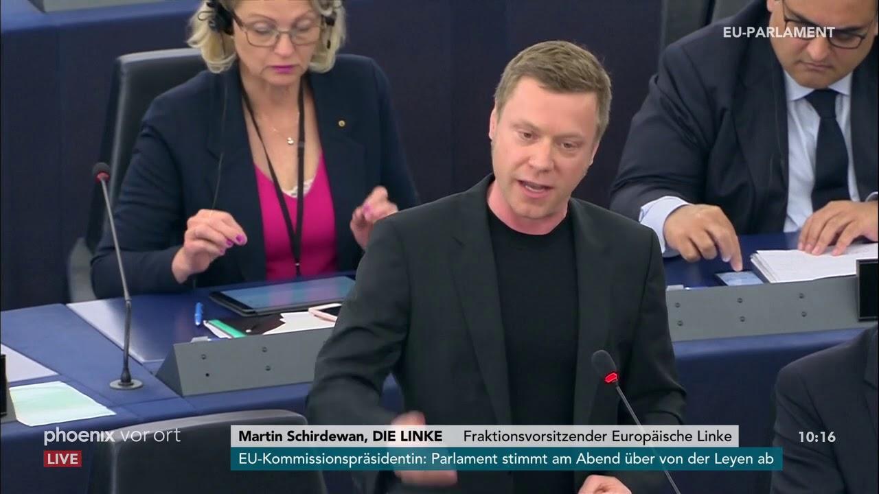 Download Martin Schirdewan zur Nominierung Ursula von der Leyens zur EU-Kommissionspräsidentin am 16.07.19