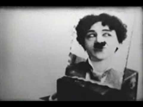 Minerva Courtney - Vintage Female Charlie Chaplin Impersonator 1915