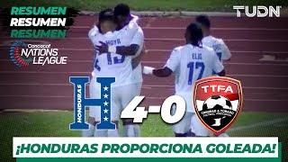 Resumen y Goles | Honduras 4 - 0 Trinidad y Tobago | CONCACAF Nations League - J 5 | TUDN