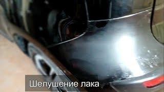 Nissan Note | Шелушится лак | Причины шелушения лака | 1 часть