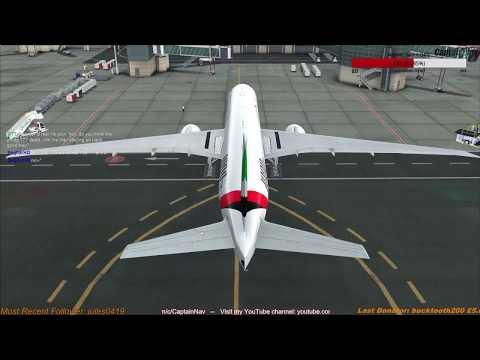 [FSX] PMDG 777-300ER | Dubai (OMDB) to Muscat (OOMS) Part 1
