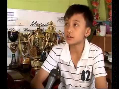Manipuri boy creates history by winning two gold medals at a badminton tournament in Denmark