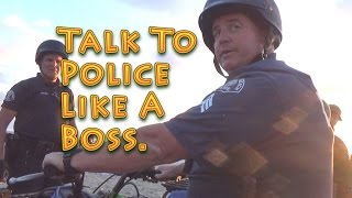 Talk To Police Like A Boss - Citizen Oversight Education & Training