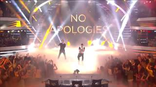 Jussie Smollett and Yazz from Empire - No Apologies - American Idol 2015