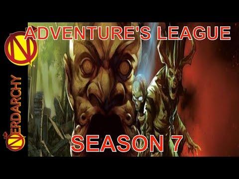 D&D Adventures League Season 7 Discussion- Nerdarchy Live Chat #112