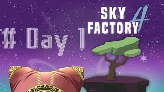 【Minecraft】スカイブロック工業化日誌 #1【SKY FACTORY 4】