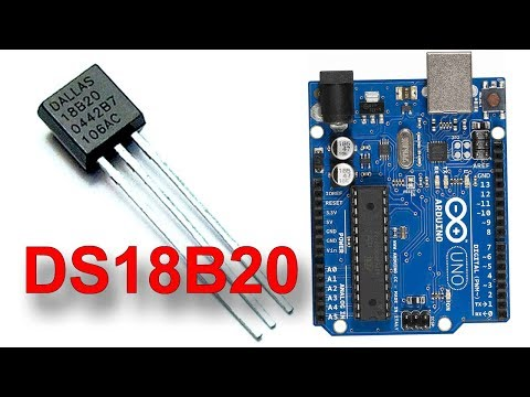 Датчик температуры DS18B20 и Ардуино!