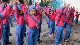 Senam sehat gembira anak TK Islam dan Sekolah Dasar Senam Islam Ceria