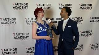 Mackenzie Flohr's interview at the Author Academy Awards