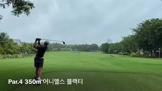 골프 꿈나무 피트니스모델의 아니히타 골프리조트에서 첫 …