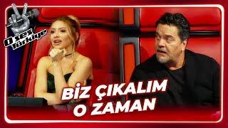 Hadise Felemenkçe Konuştu, Beyaz Ayaklandı   O Ses Türkiye 1. Bölüm