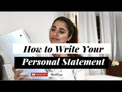 How To Write The BEST Medical School Personal Statement - INSIDER SECRET Tips & MORE!!!!
