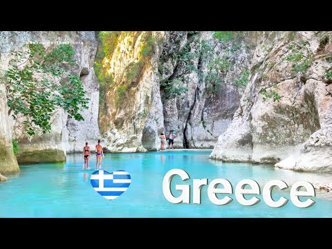 Greek Alps: Acheron River, the mythical gate to the Underworld // Ο ποταμός Αχέρων, Πρέβεζα