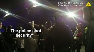 Video released from night of Robbins nightclub police shooting that killed security guard