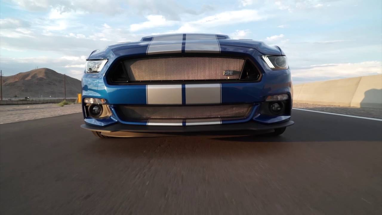 2017 shelby gte b roll video