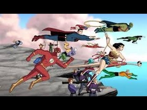Justice League: The New Frontier (2008) Movie Review by JWU