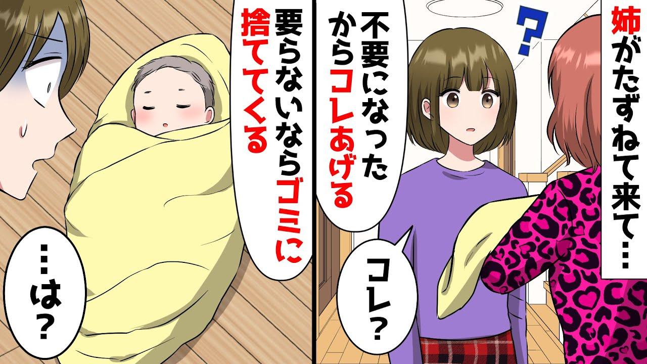 【LINE】姉「赤ん坊要らないからゴミに捨てるわw」私「は…?」→数日後、必死の形相になった姉が「やっぱその子返してぇぇ!」私「無理です」→結果w(スカッとする話)