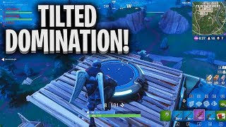 My best game yet! OWNING Tilted Towers!   PC   1440p 60fps   Fortnite Battle Royale