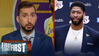 Nick Wright agrees Anthony Davis not winning a title would be a failure | NBA | FIRST THINGS FIRST