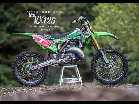 Return of the KX125 2 stroke  Motocross Action Magazine