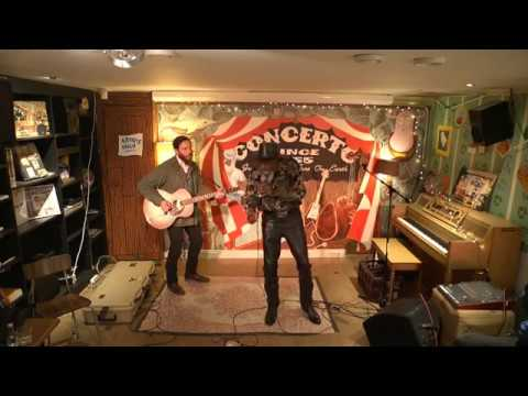 Robert Finley instore @ Concerto record store  06/12/2017
