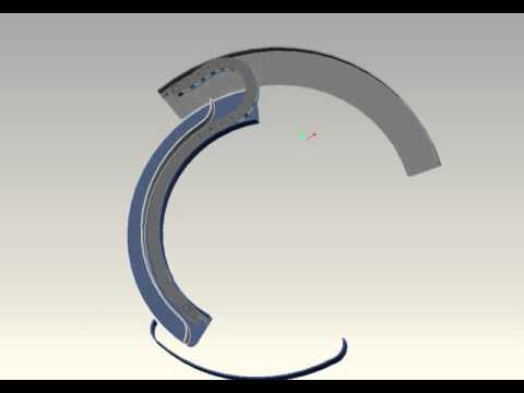 Igus Chain For Rotary Motion Youtube