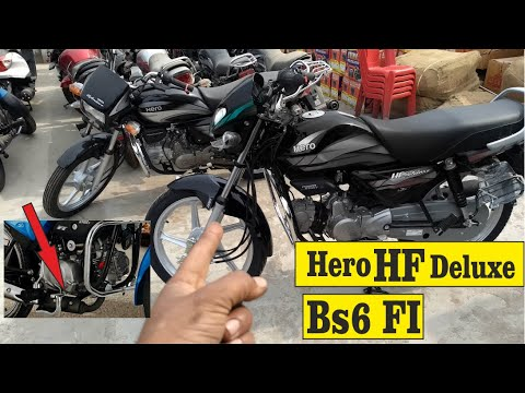 2020 Hero Hf Deluxe Bs6 Fi Mileage On Road Price Full Details In Hindi Youtube