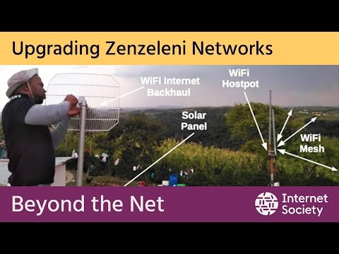 Zenzeleni (Do it Yourself!) Networks in Mankosi - South Africa
